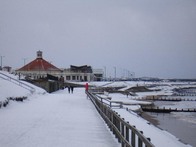 White Christmas on Aberdeen Beach