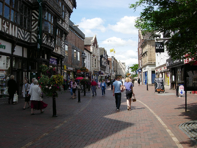 Town centre, Stafford