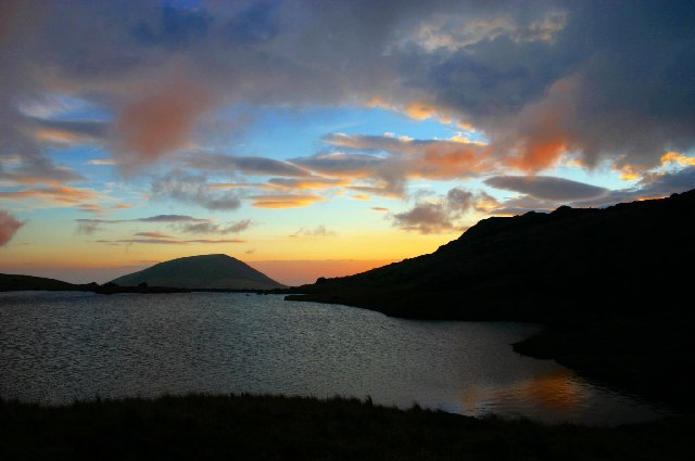Scoat Tarn at Sunset