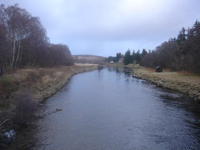 River Dee from Dinnet Bridge