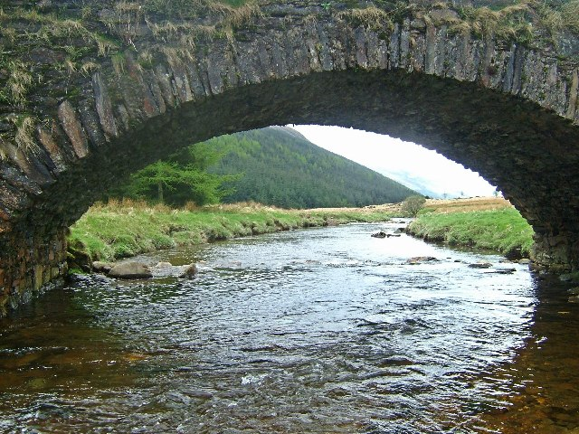 Old road bridge near Butterbridge farm