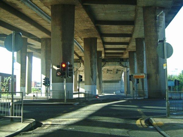 Underneath Kingston Bridge