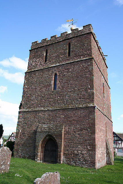 the detached tower at Bosbury