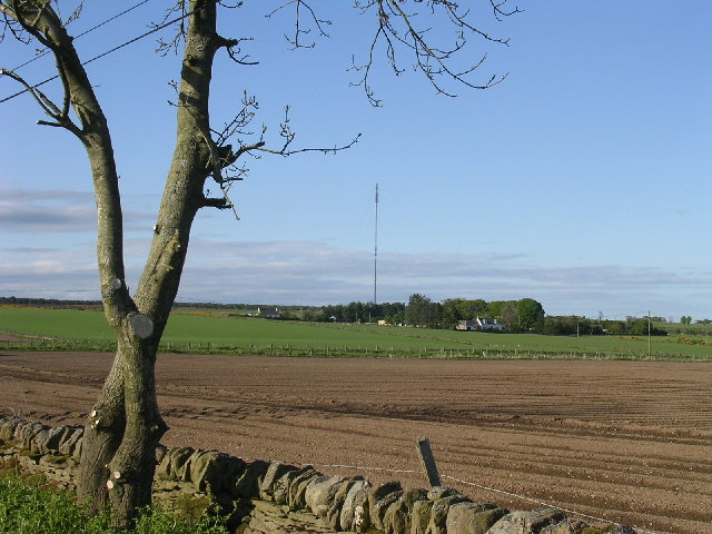Harecairn transmitter from East Bankhead