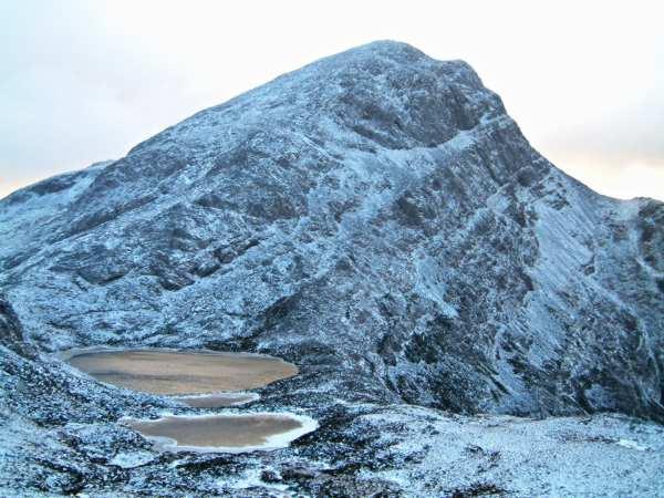 An Ruadh-stac from Loch a' Mhadaidh Ruadh