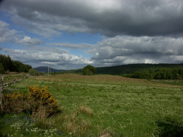 Near the South East end of Glen Loy looking towards Spean Bridge