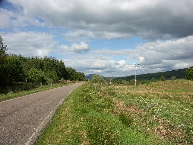 B8004 near end of Glen Loy