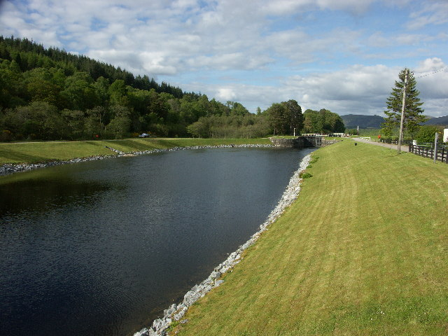 Caledonian Canal at Gairlochy