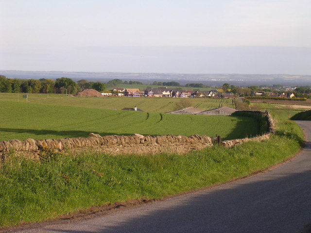 Farmland north of Bucklerheads