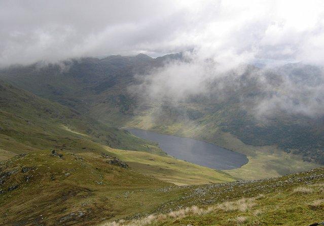 The east ridge of Sgurr Coire Choinnichean.