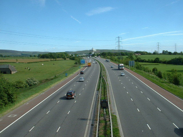 M6 Motorway at Bay Horse
