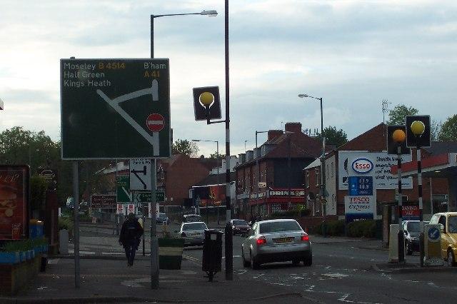 The Birmingham-Solihull border