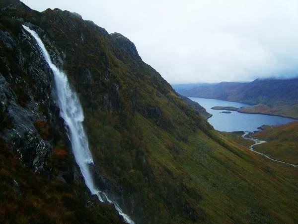 Eas Chuil Aluinn and Loch Glencoul