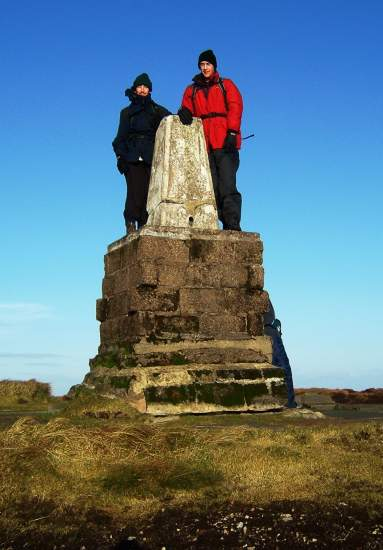 Cheviot summit