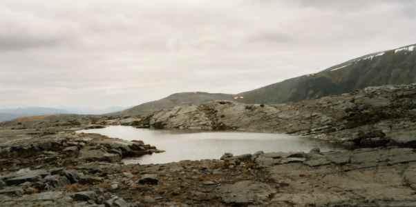 Lochan near Bealach Horn