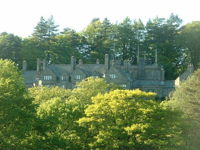 Abbeystead house, Bowland
