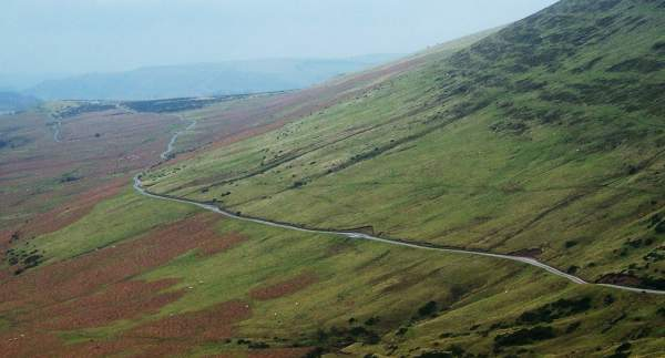 North slope of Hay Bluff