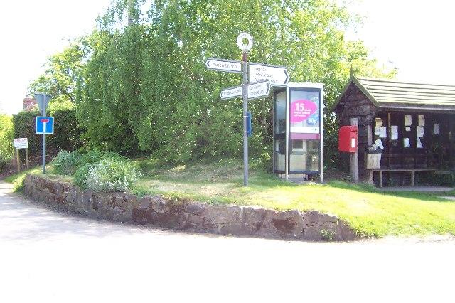 Frodesley Crossroads