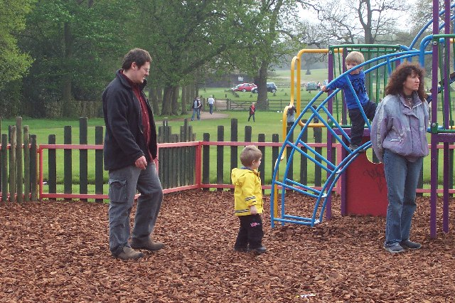 At play in Sutton Park