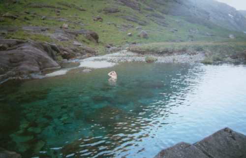 A pool in the Coruisk river