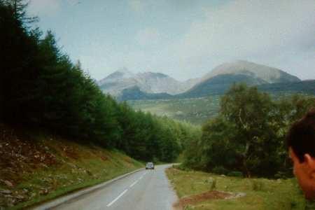 A832 through Dundonnell Forest