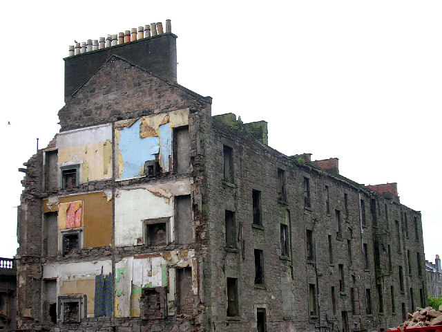 Tenement demolition