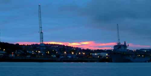 Devonport at sunrise