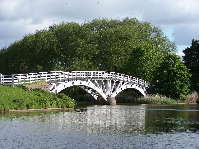 Horse Bridge on the River Weaver