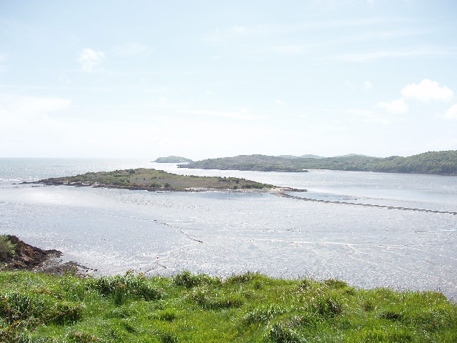Rough Island from Mote of Mark, near Dalbeattie