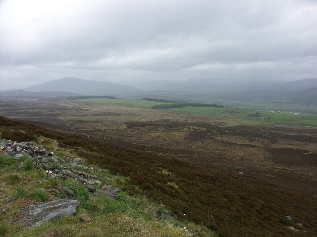 Spey Valley from Beinn Bhaidhe