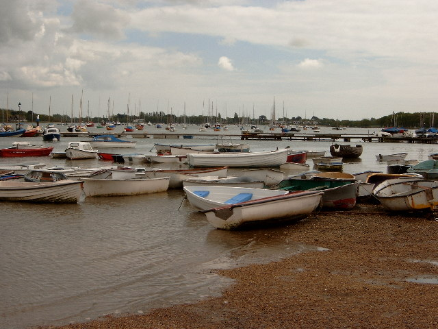 Chichester Harbour from West Itchenor