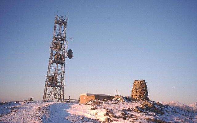 Summit junk, Bidein Clann Raonaild.