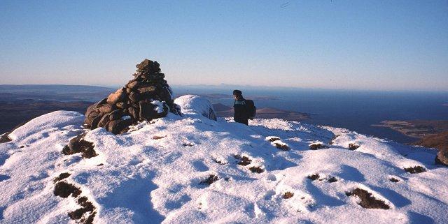Summit of Cnoc a'Bhaid-rallaich