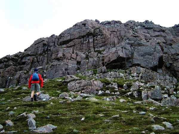 Slioch west ridge