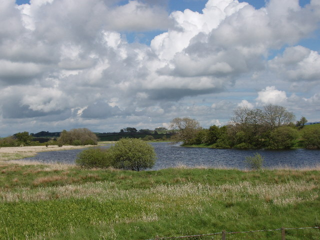 River Dee, East of Threave Island, wildfowl sanctuary