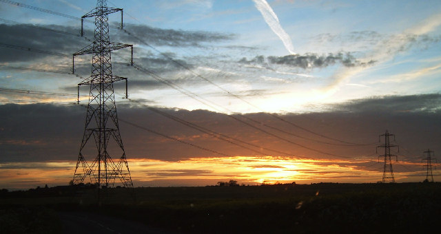 Great Thirkleby Pylons