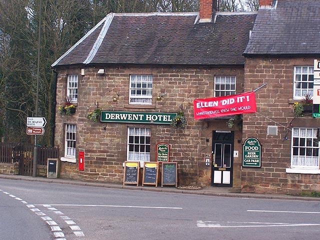 Derwent Hotel, Whatstandwell