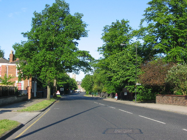 View down Heworth Green towards York