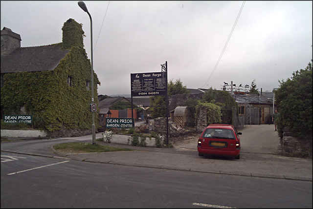 Dean Forge and Dean Prior Garden Centre