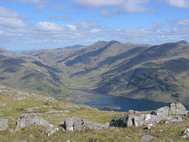 Loch Nevis from Màm Uchd