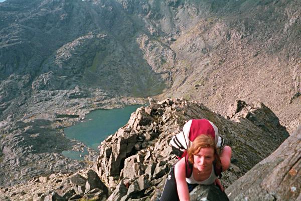 North ridge of Sgurr nan Eag