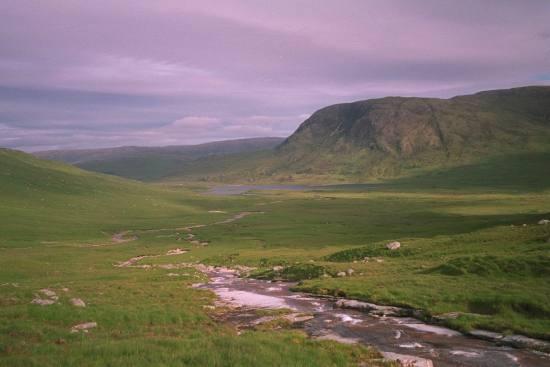 Above Loch Dochard