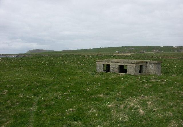 Breckness WWII Coast Defence radar station