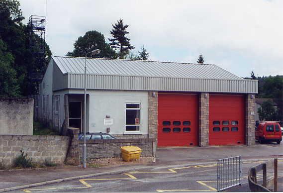 Banchory Fire Station, Glebe Park, Banchory