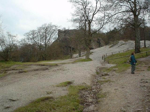 Cromford, path