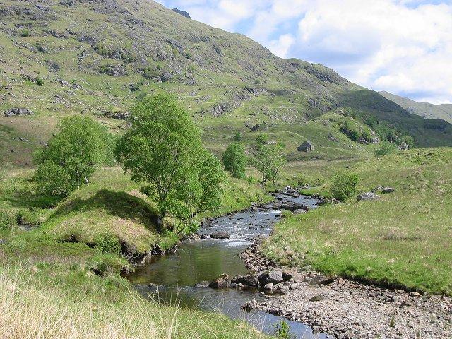 Gleann an Dubh Lochain