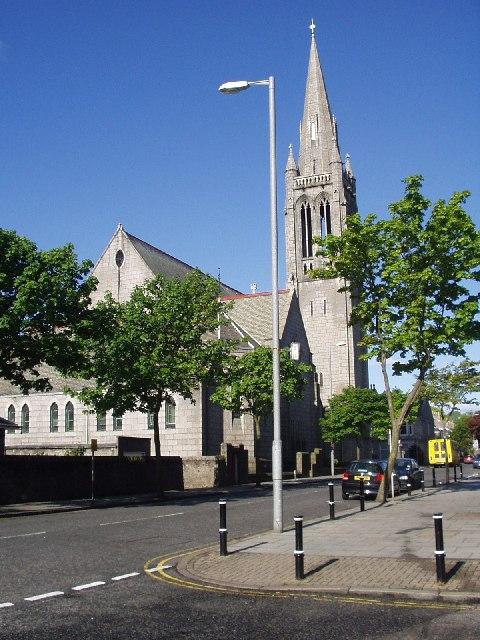 Beechgrove Church viewed from Midstocket Road