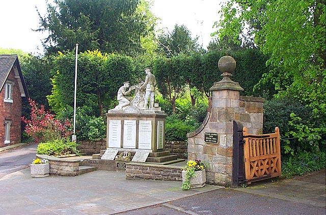 War Memorial, West Hallam
