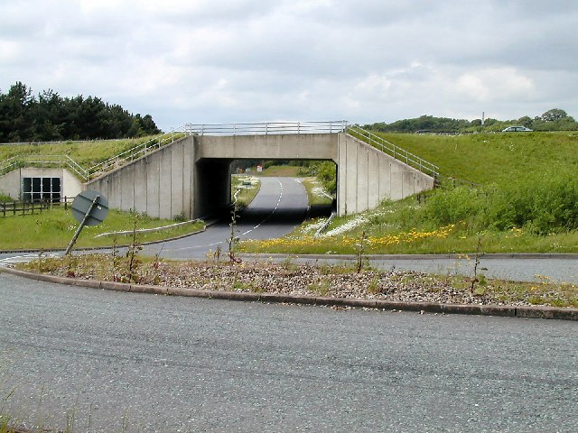 Bridge under the A453