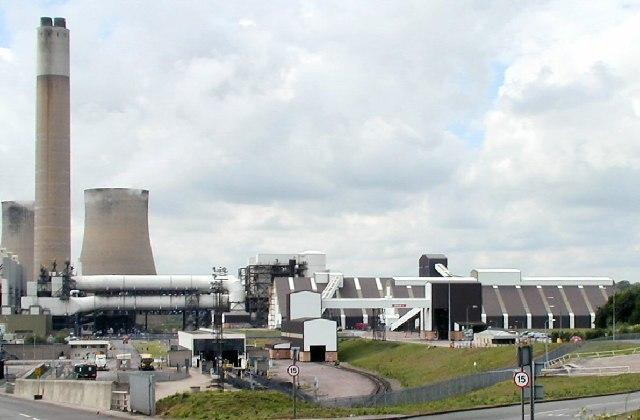 Flue Gas Desulphurisation Plant at Ratcliffe Power Station